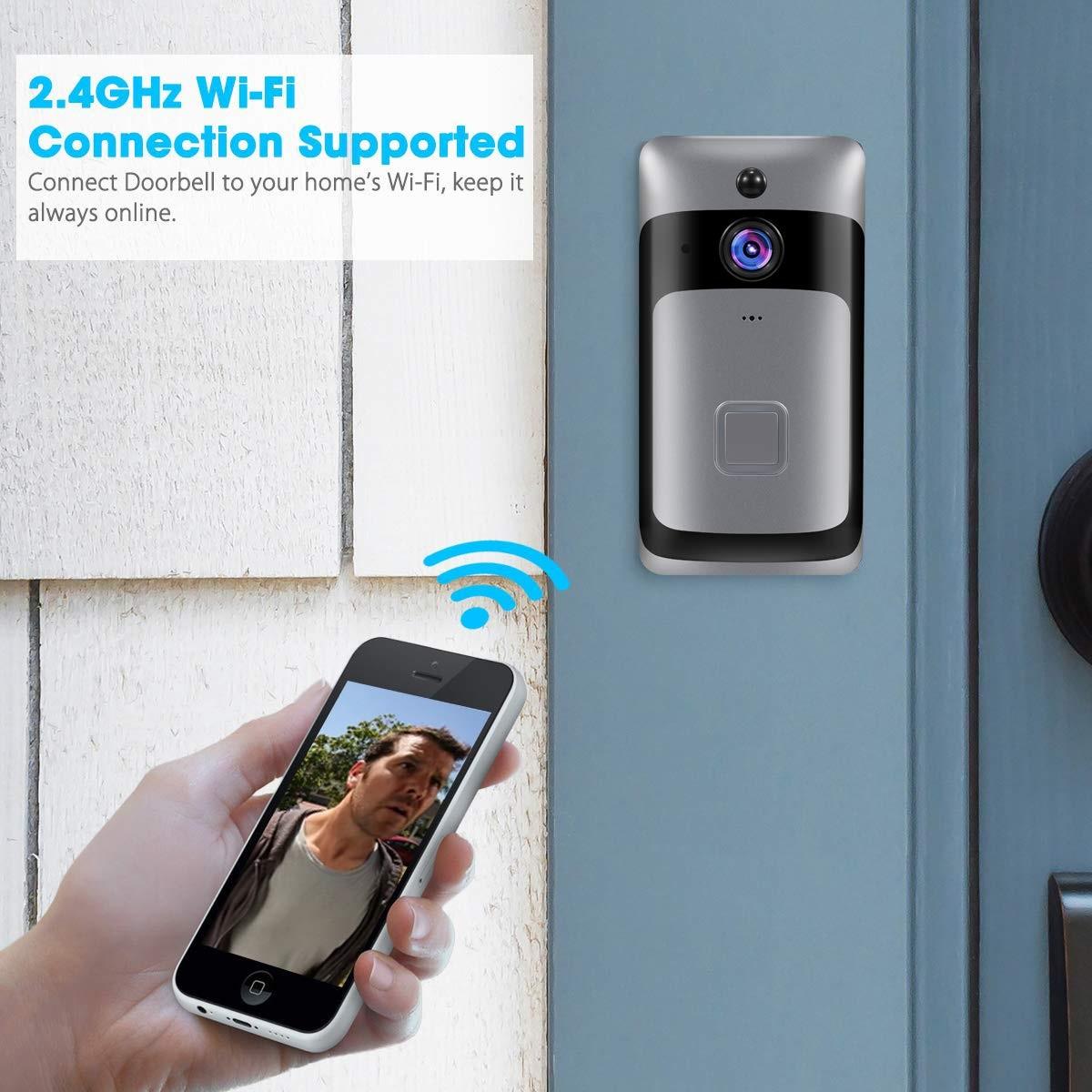 Smart Home WiFi Doorbell Prestaciones