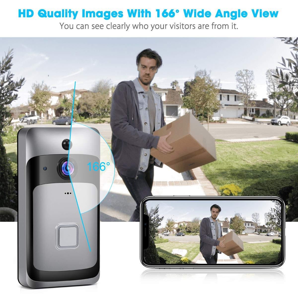 Smart Home WiFi Doorbell cámara