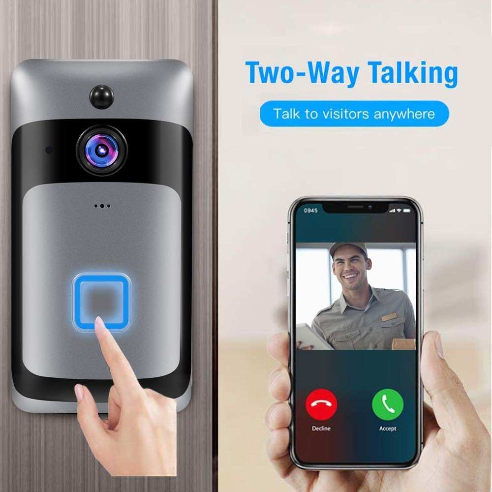 Smart Home WiFi Doorbell características