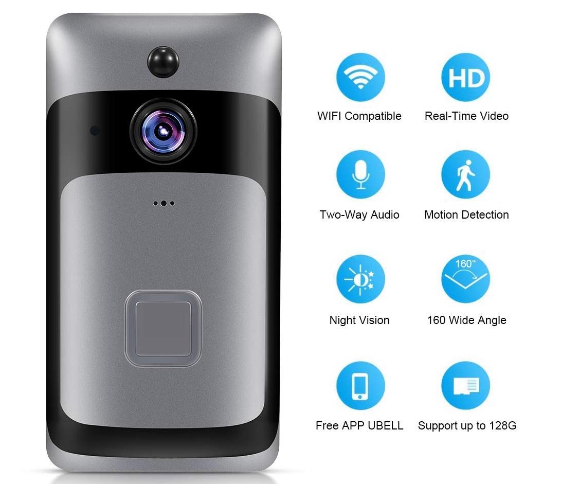 Smart Home WiFi Doorbell intro