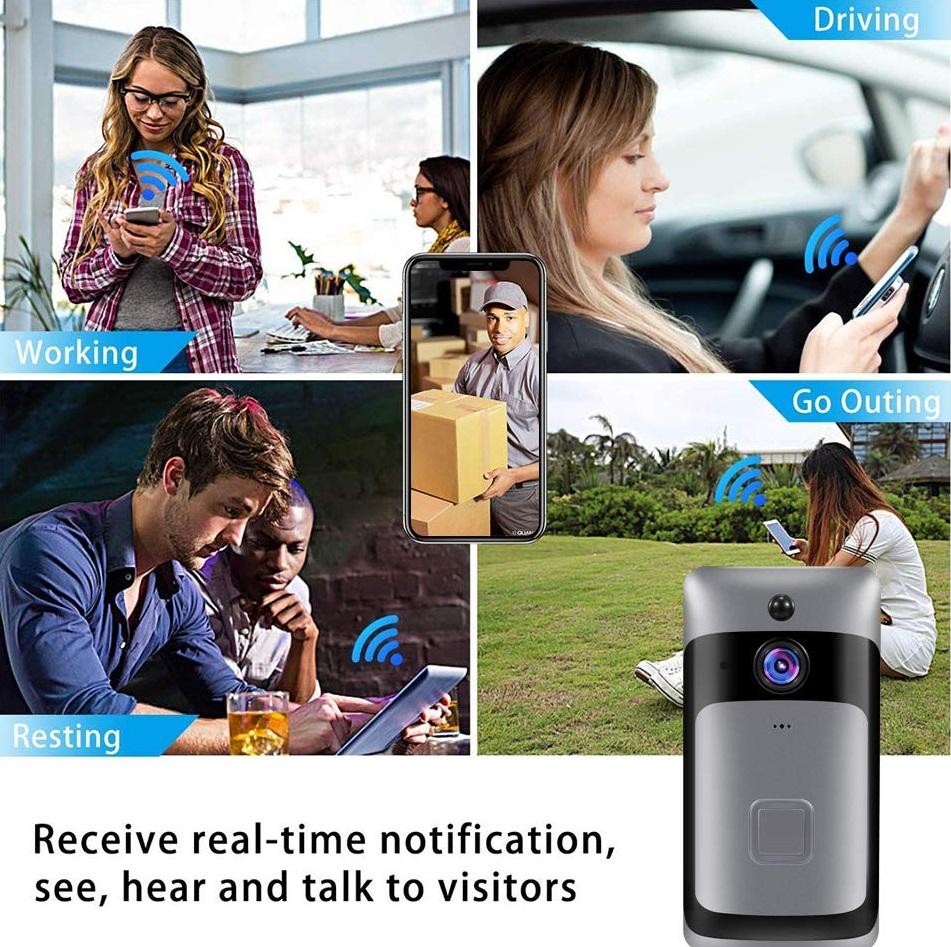 Smart Home WiFi Doorbell