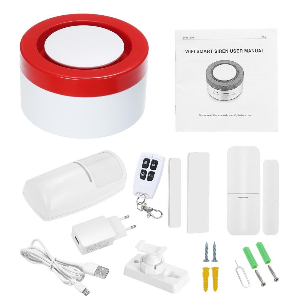 Smart Security Alarm System caja