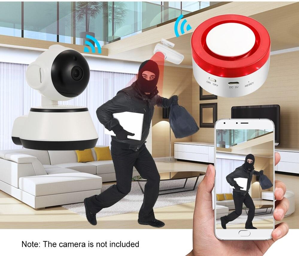 Smart Security Alarm System estructura