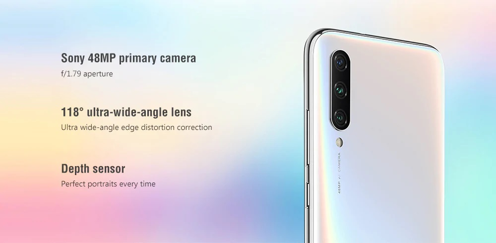 Xiaomi Mi A3 cámara