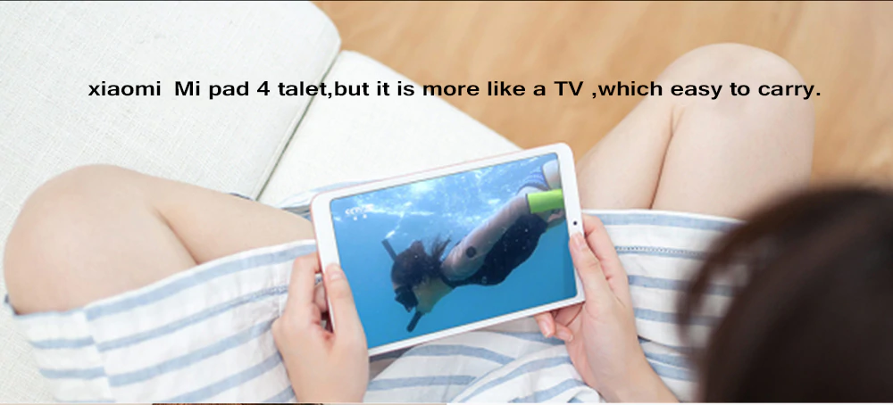 Xiaomi Mi Pad 4 Plus - TV