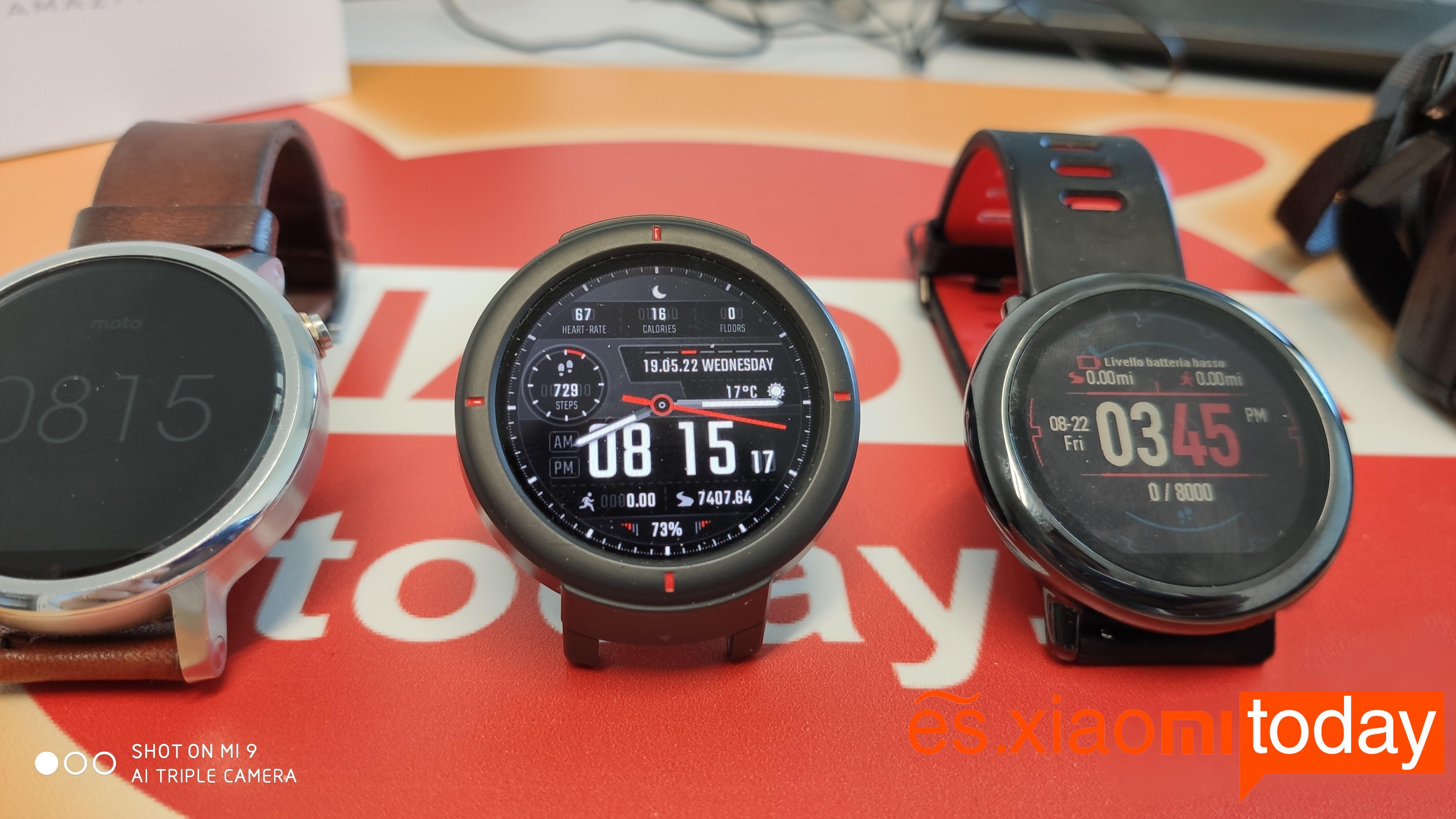 Amazfit Verge Análisis: uno de los mejores relojes inteligentes en el mercado