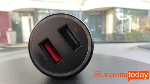Mi Wireless 20W Car Charger Análisis: diseño cargador
