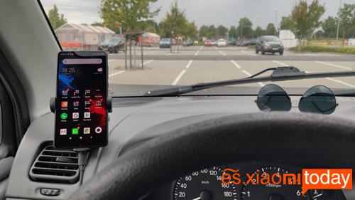 Mi Wireless 20W Car Charger Análisis: funcionamiento