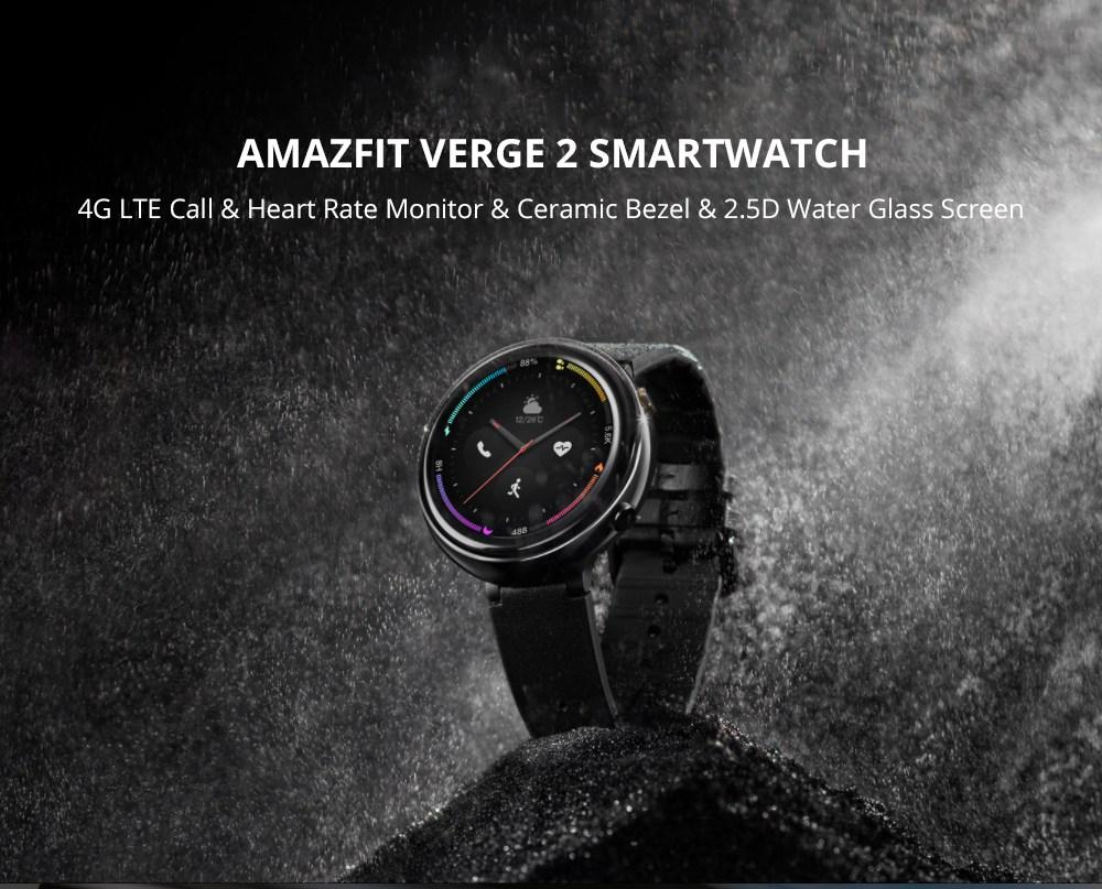 Xiaomi HUAMI AMAZFIT Verge 2, uno de los mejores relojes lanzados por Xiaomi