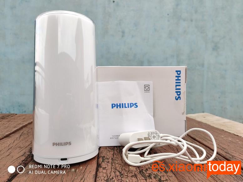 Xiaomi Philips ZhiRui Análisis: empaque
