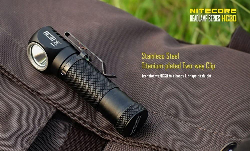 Nitecore HC30 diseño