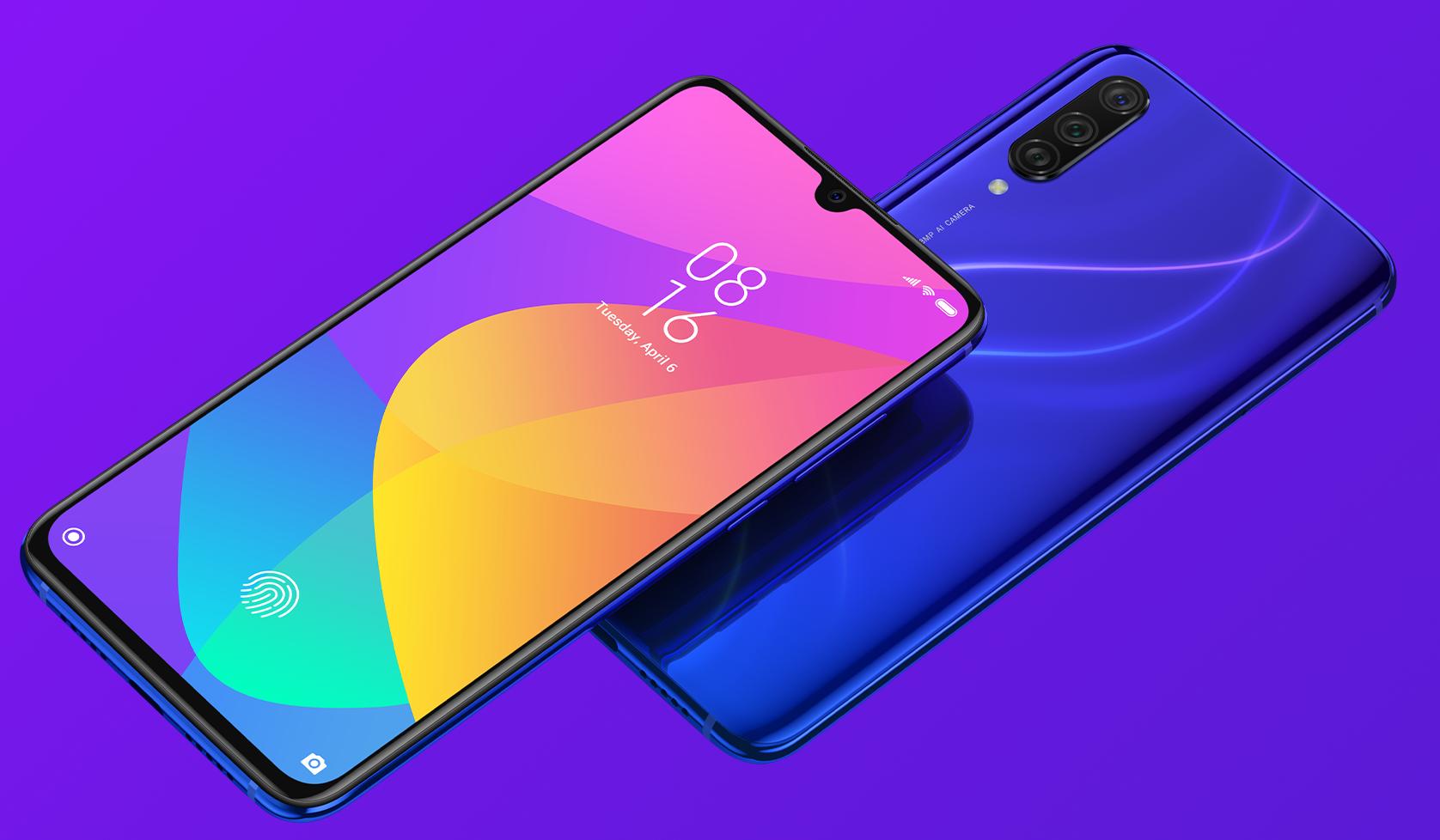 Xiaomi Mi 9 Lite - Diseño