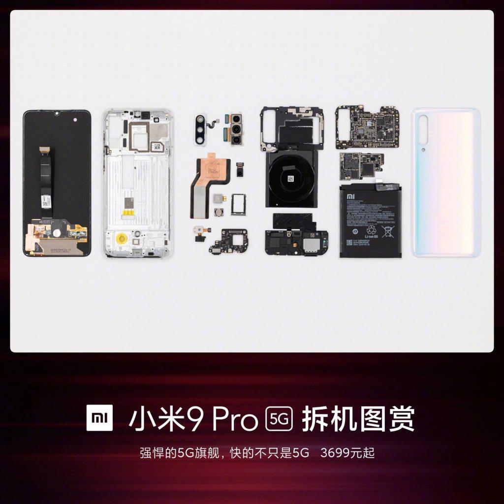 Xiaomi Mi 9 Pro - Resto de las piezas