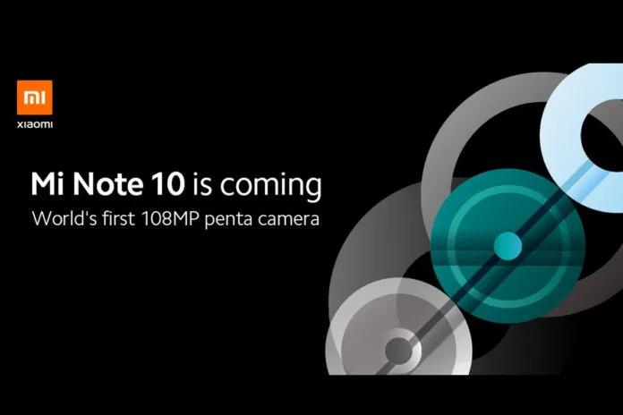 Xiaomi Mi Note 10 - Cámara
