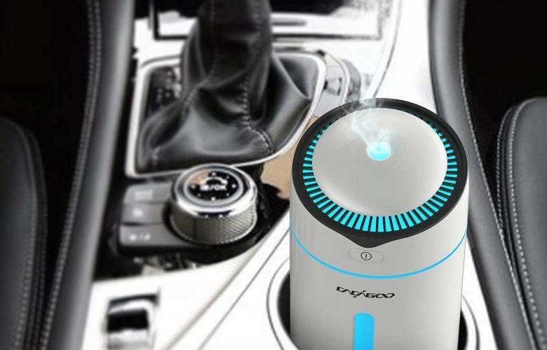 CACAGOO mini portable ultrasonic cold mist humidifier
