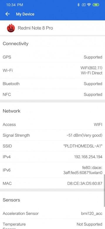 Redmi Note 8 Pro Análisis: conectividad