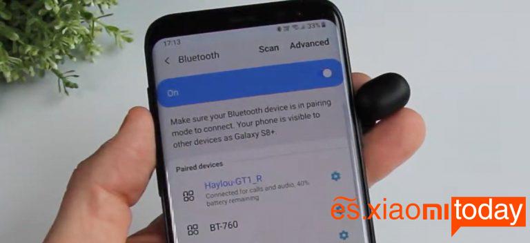 Xiaomi Haylou GT1 vs Redmi Airdots: conectividad