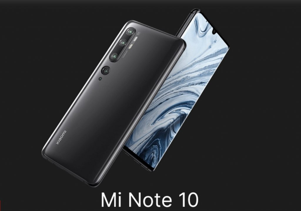 Black Friday Xiaomi Mi Note 10