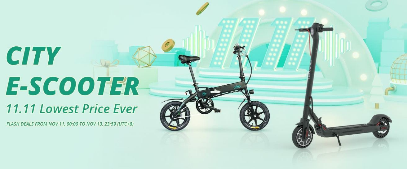 Geekbuying Scooters KUGOO destacada