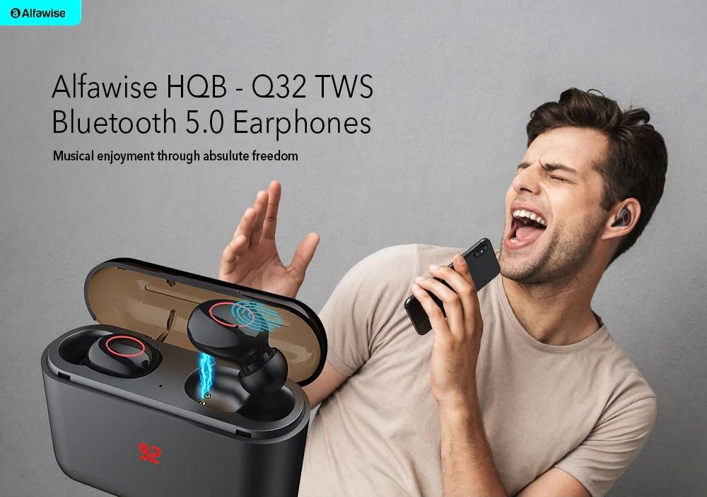 Alfawise HQB – Q32TWS control táctil