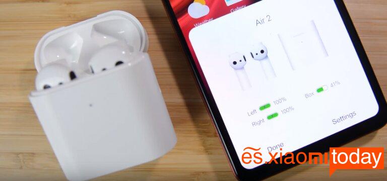 Xiaomi AirDots Pro 2 Análisis: batería