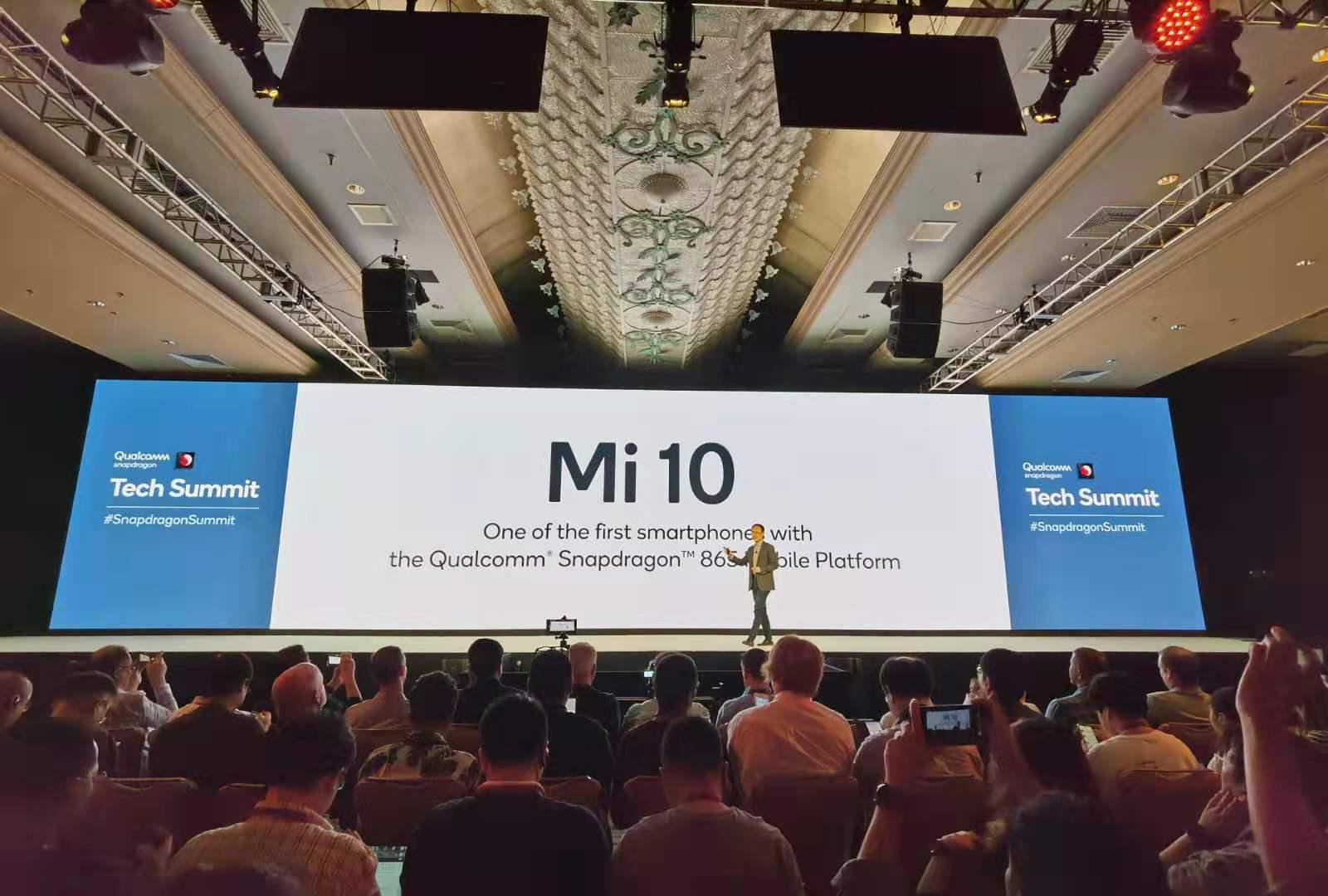 El Xiaomi Mi 10 será uno de los primeros móviles con el chip Snapdragon 865