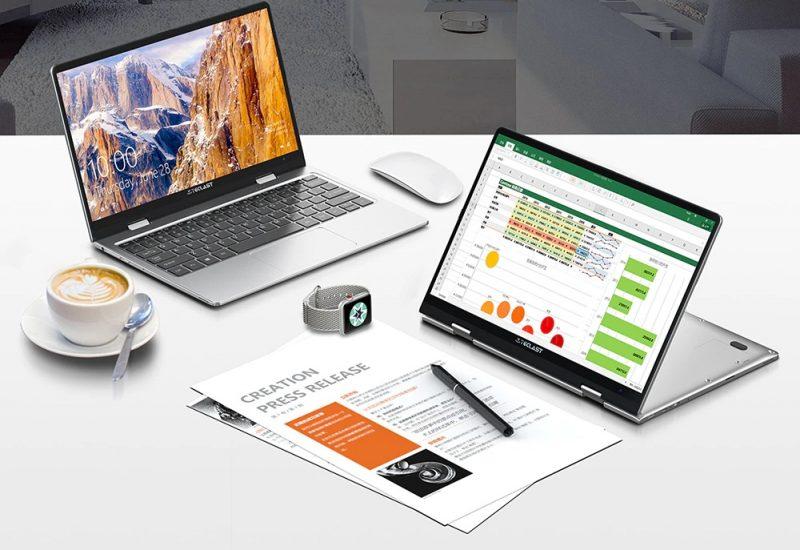 Laptop Teclast F5 con pantalla de 360° en Oferta Especial