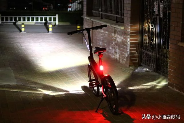 Qicycle Electric Power-assisted Bicycle - Luces