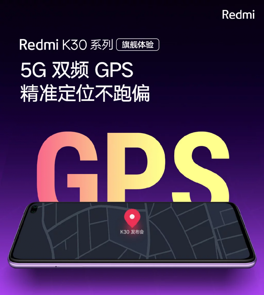 Redmi K30 - GPS