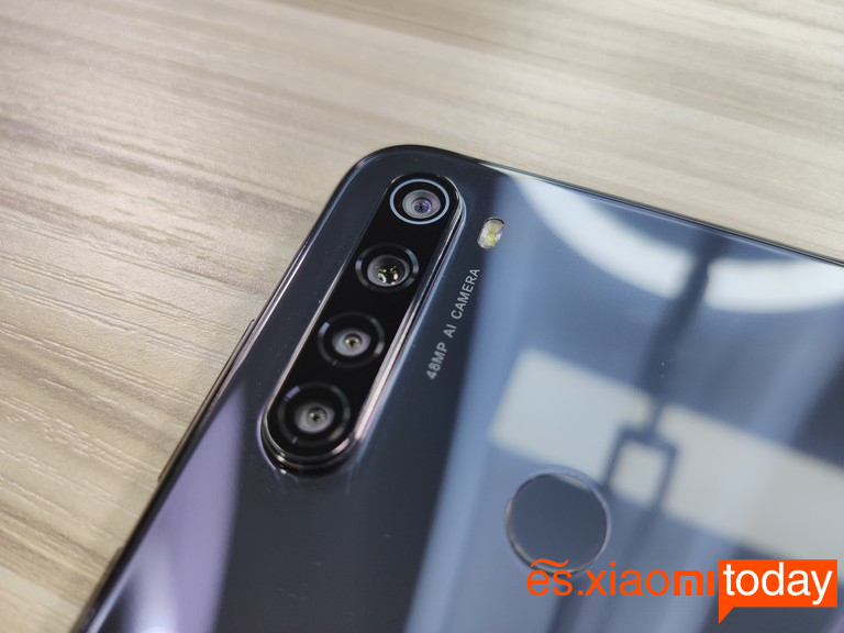 Redmi Note 8T Análisis: diseño posterior