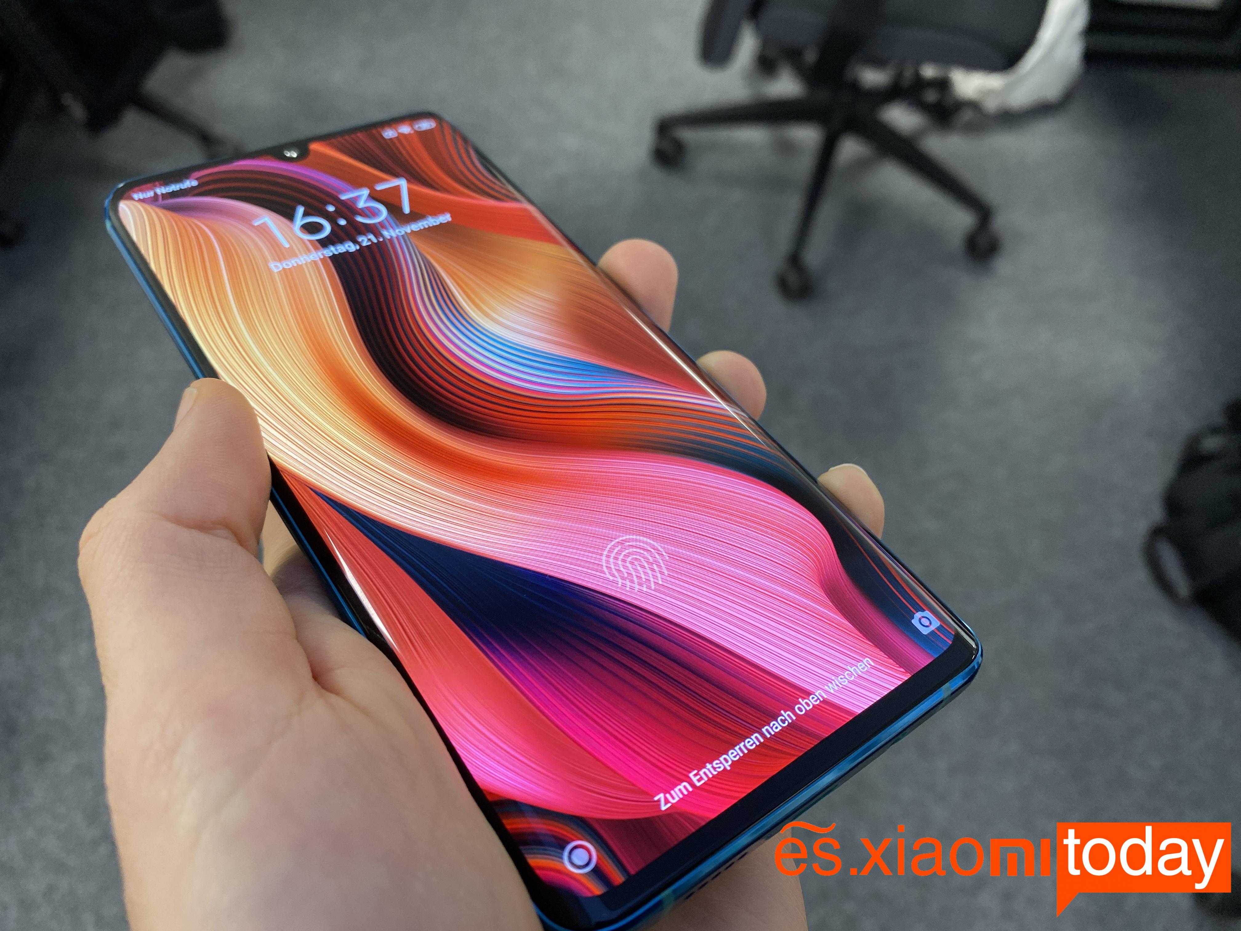 Xiaomi Mi Note 10 Análisis: pantalla