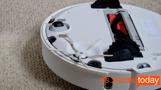Xiaomi Roborock S6 Análisis: diseño inferior