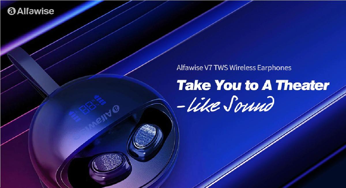 Alfawise V7 TWS - Destacada