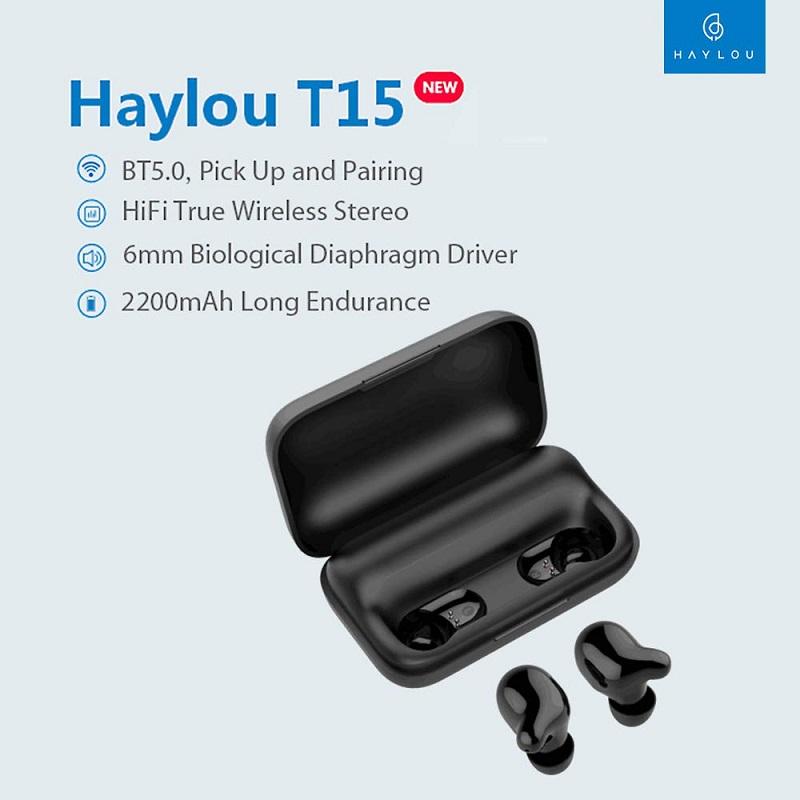 HAYLOU T15 características