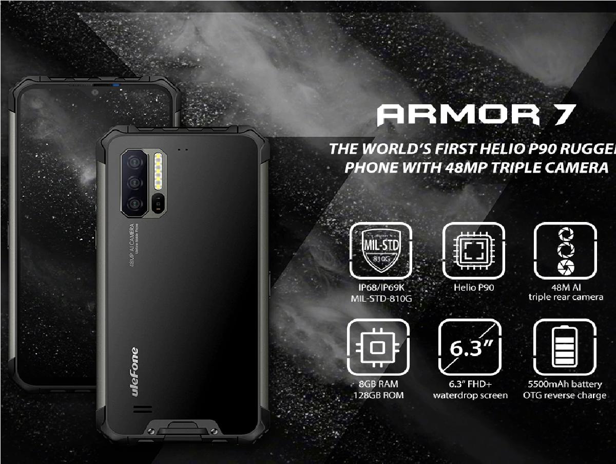 Smartphones Ulefone Armor 7
