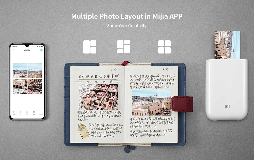 Xiaomi Pocket Photo Printer